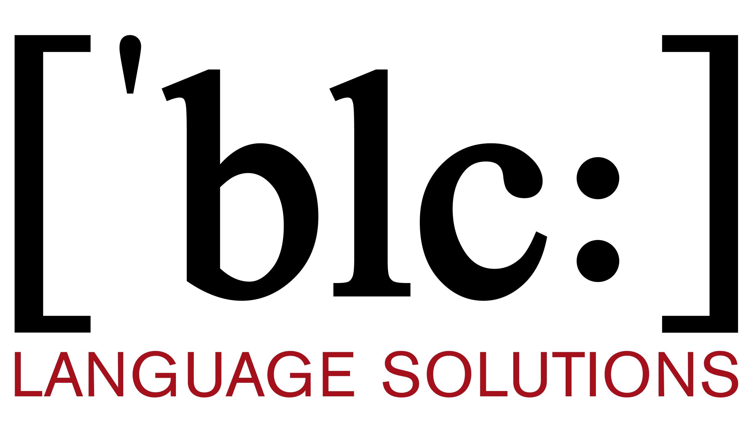 BLC Language Solutions